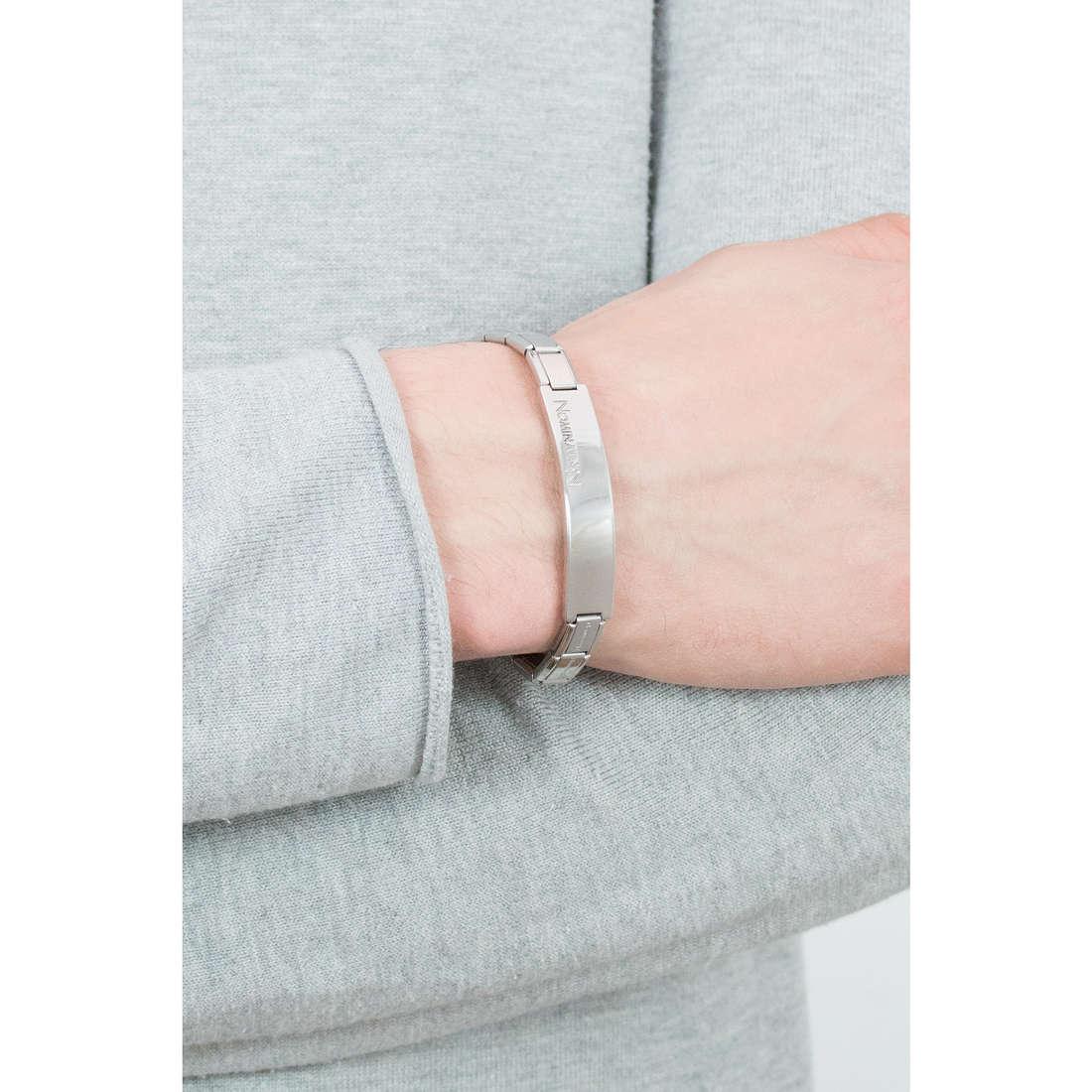 Nomination bracelets Trendsetter man 021106/004 indosso