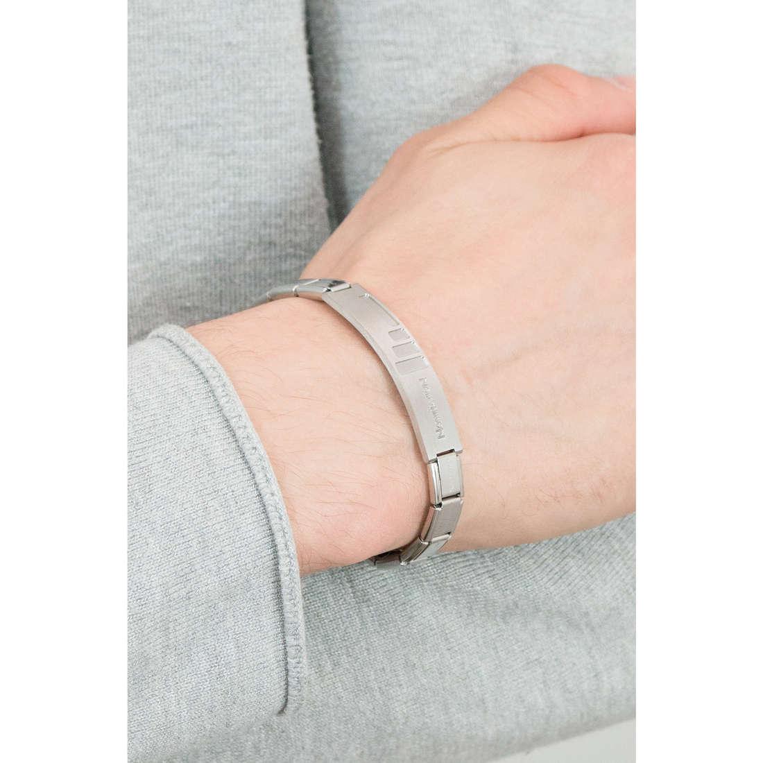 Nomination bracelets Trendsetter man 021108/008/003 indosso