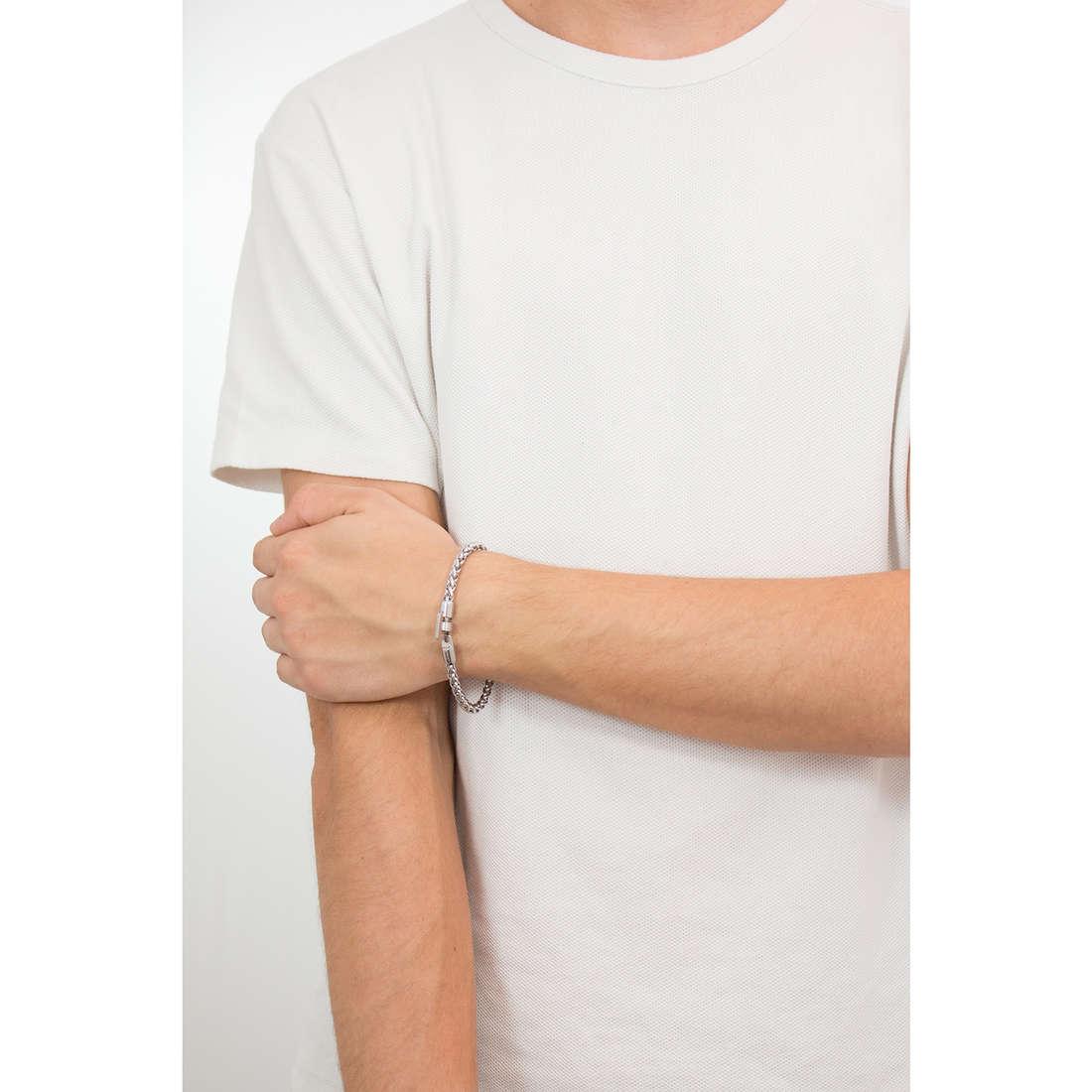 Sagapò bracelets Climber man SCM06 indosso