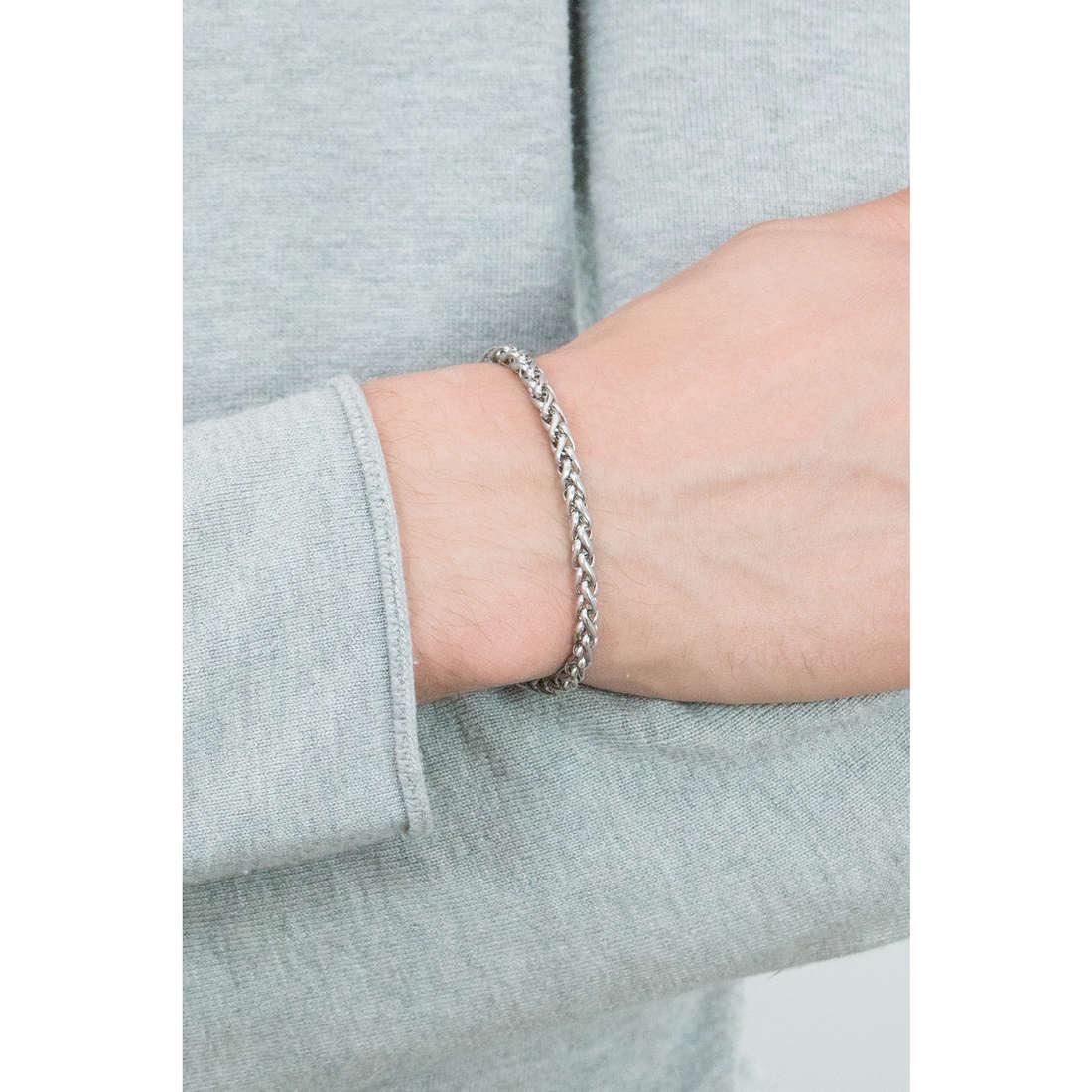 Sagapò bracelets Climber man SCM06A indosso