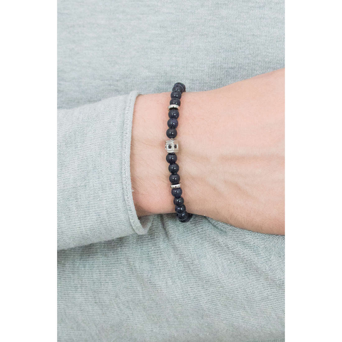 Sagapò bracelets Hari man SHI12 indosso
