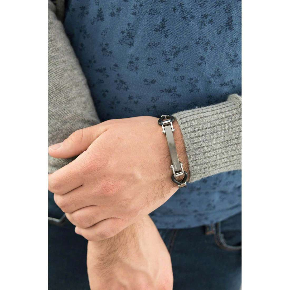 Sagapò bracelets Panama man SPA02 indosso