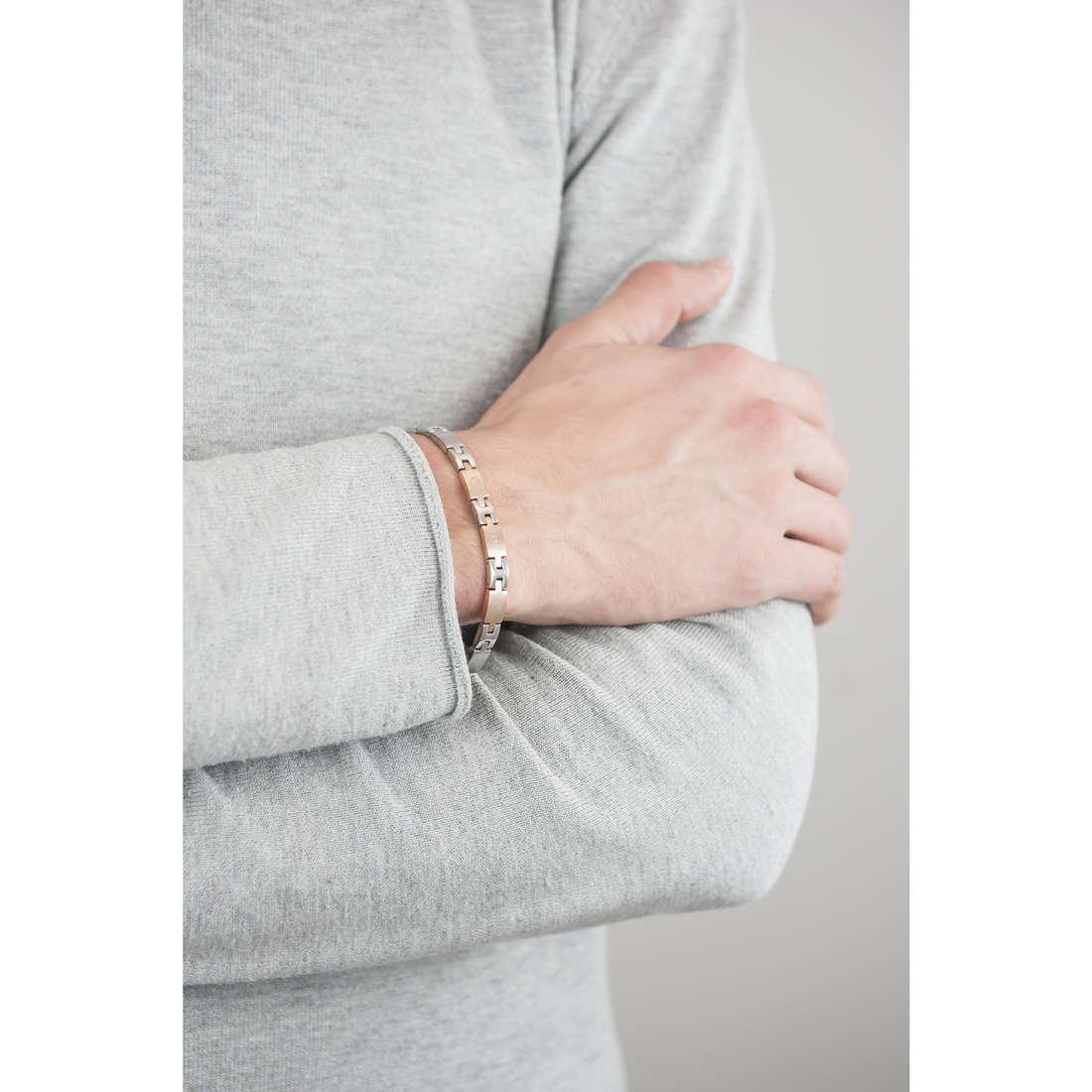 Sector bracelets Basic man SLI60 indosso