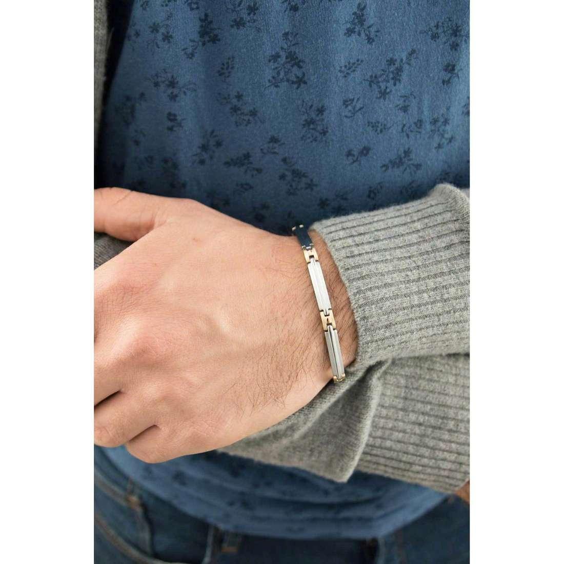 Sector bracelets Basic man SZS03 indosso