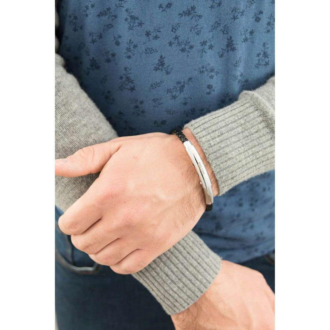 Sector bracelets Impact man SLI41 indosso