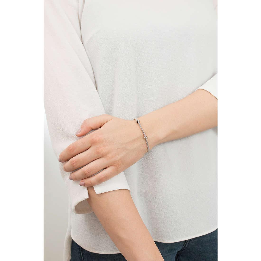 Brosway bracelets Tres Jolie Mini unisex BBBR13 indosso