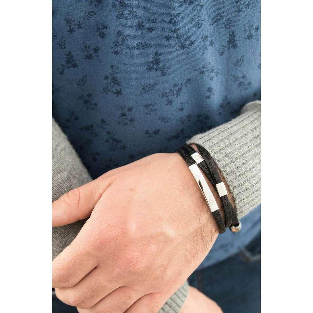 Sector bracelets Love and Love unisex SADO02 indosso