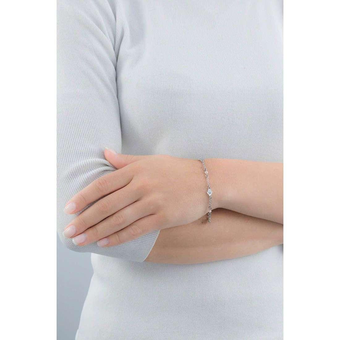 Amen bracelets Angelo woman BRAR indosso