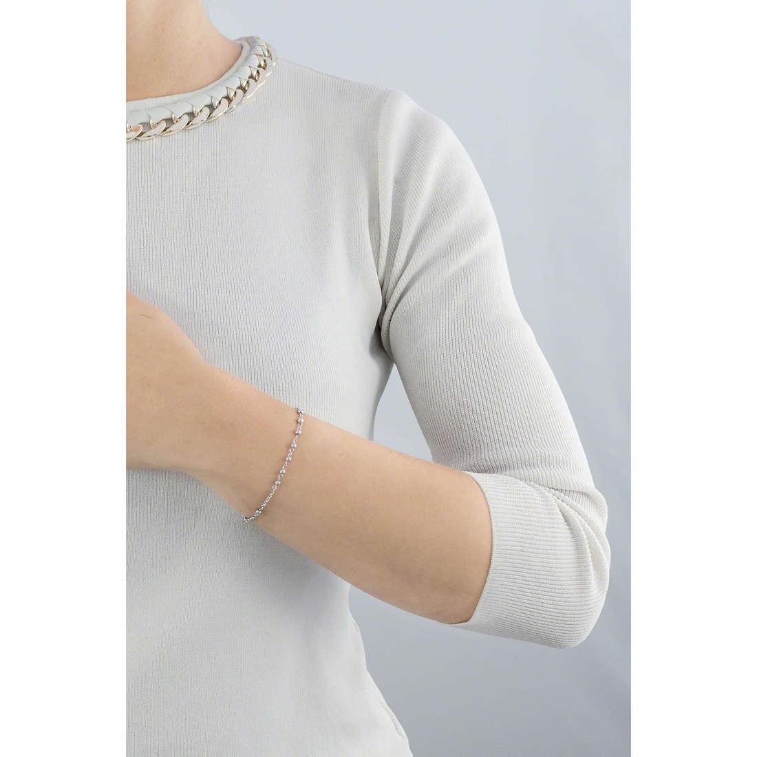 Amen bracelets Rosario woman BROB4 indosso