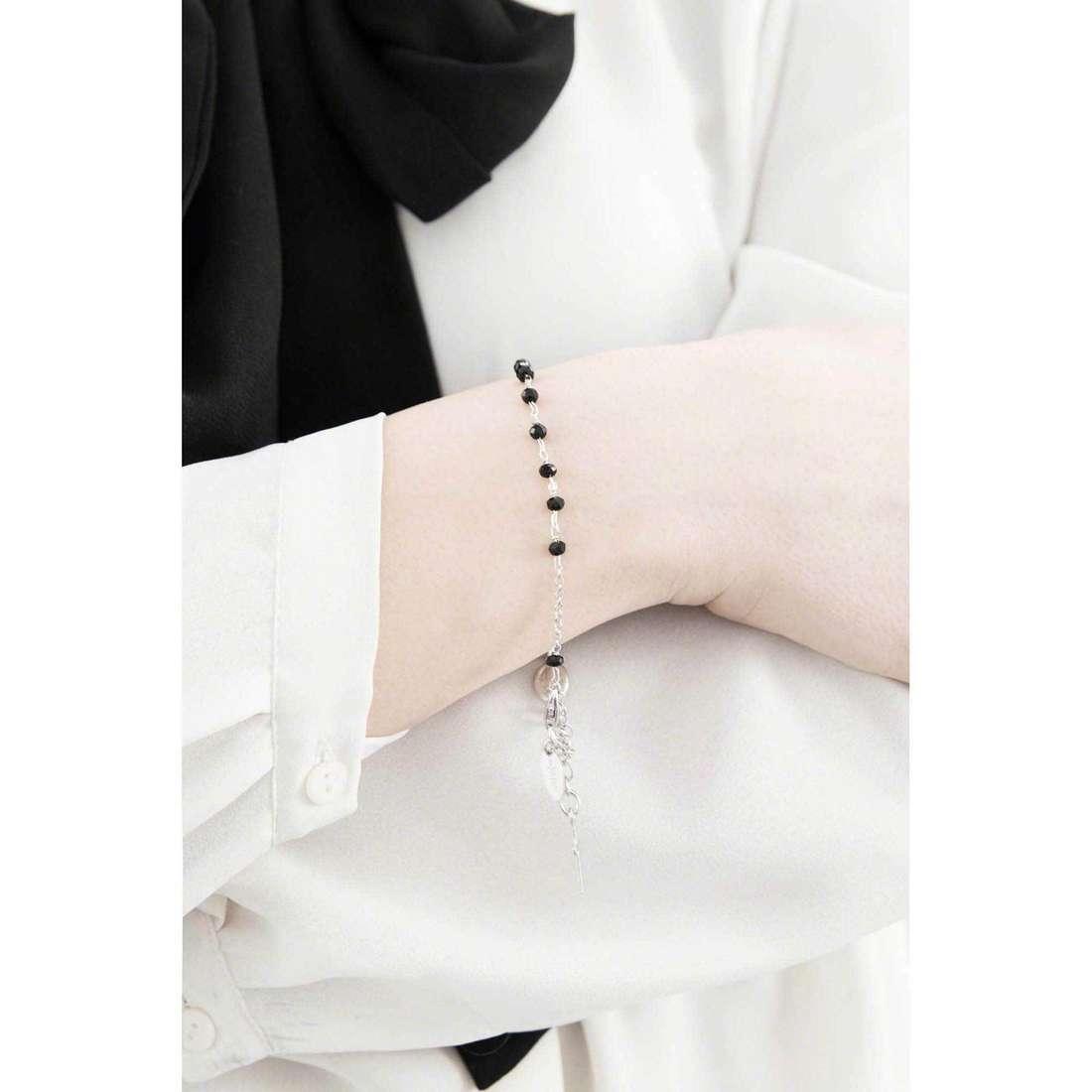Amen bracelets Rosario woman BROBN4 indosso
