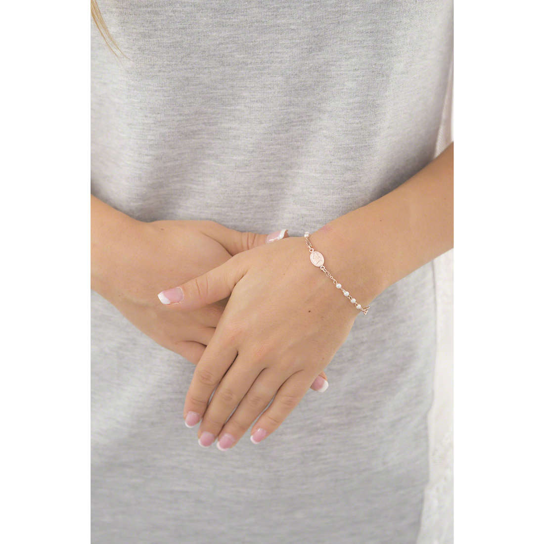 Amen bracelets woman BRORS3 indosso