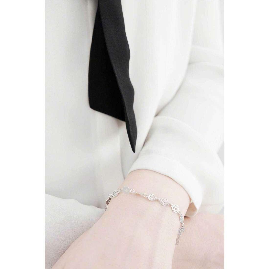 Amen bracelets Padre Nostro Italiano woman BRCL indosso