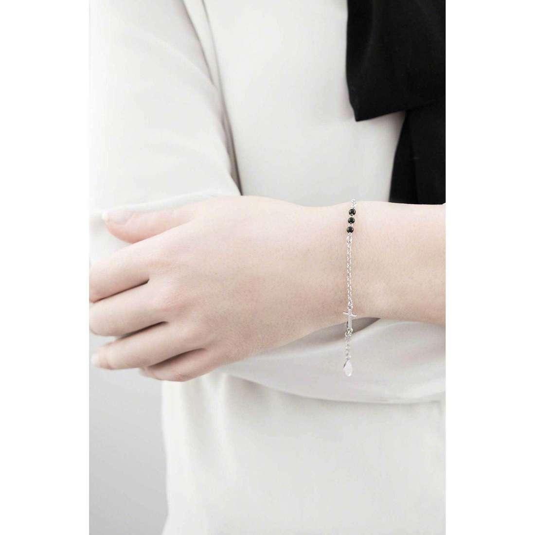 Amen bracelets Padre Nostro Italiano woman BRCN indosso