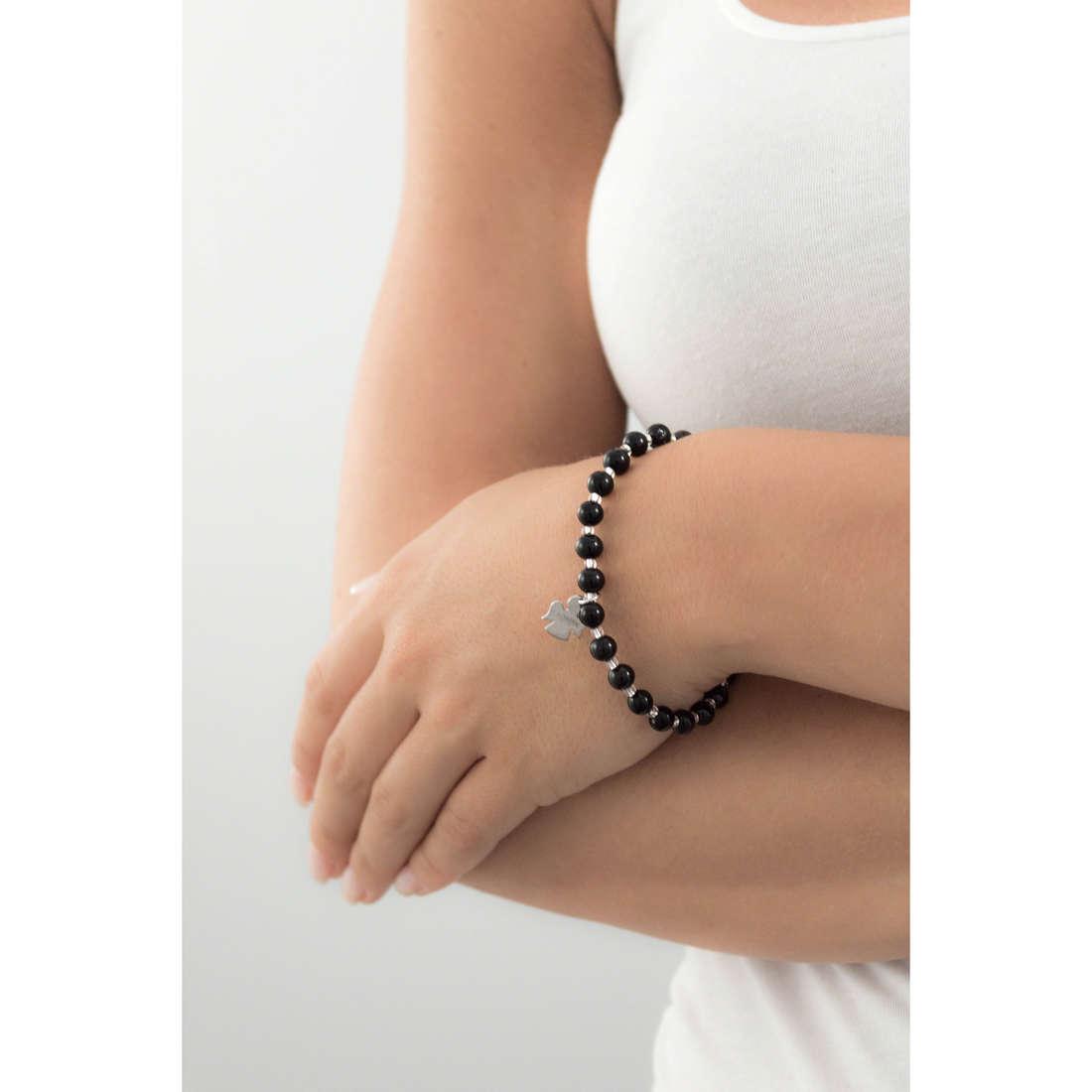 Amen bracelets Perle Murano woman AD6N indosso