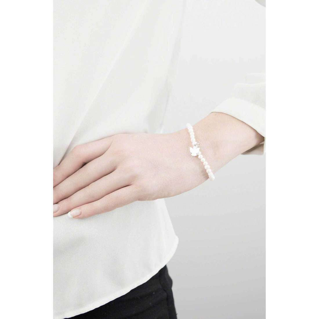 Amen bracelets Perle Scaramazze woman PST45 indosso