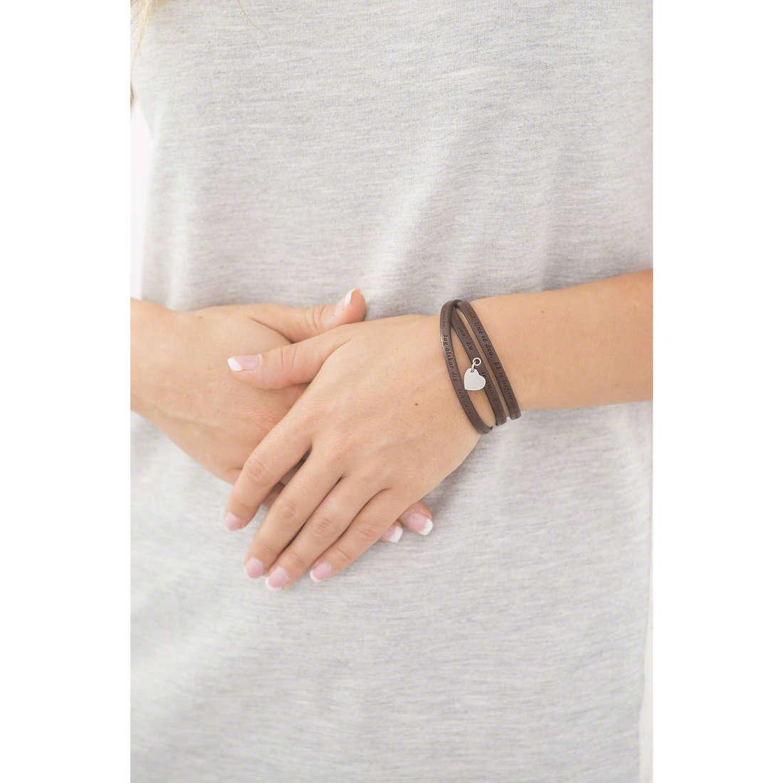 Amen bracelets Ti Amo woman AS-TA05-57 indosso