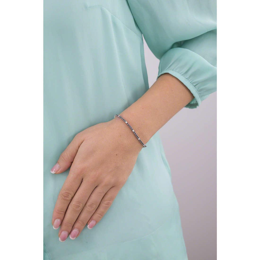 Bliss bracelets Fili D'Argento woman 20070328 indosso