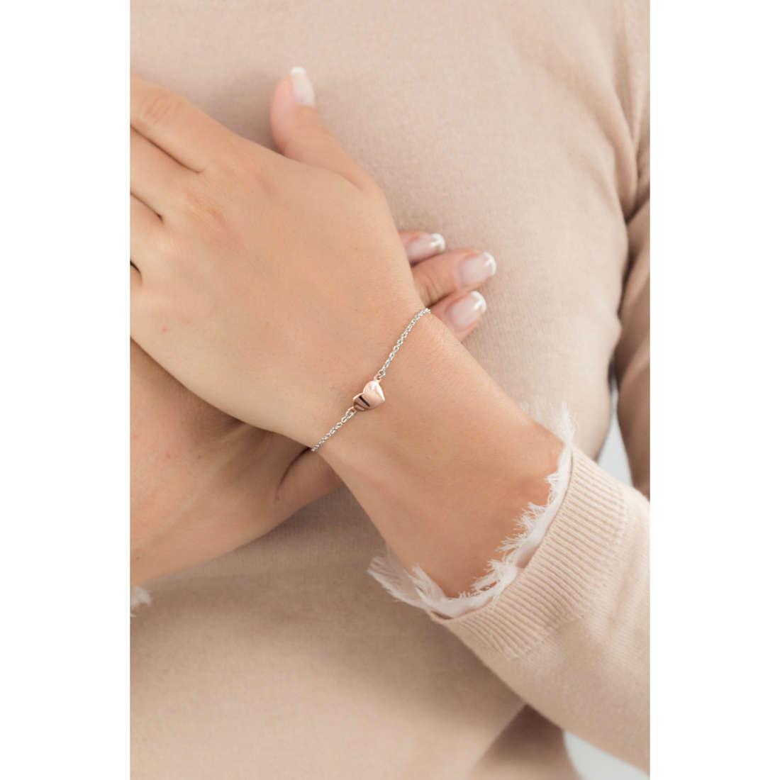 Breil bracelets Small Stories woman TJ1766 indosso