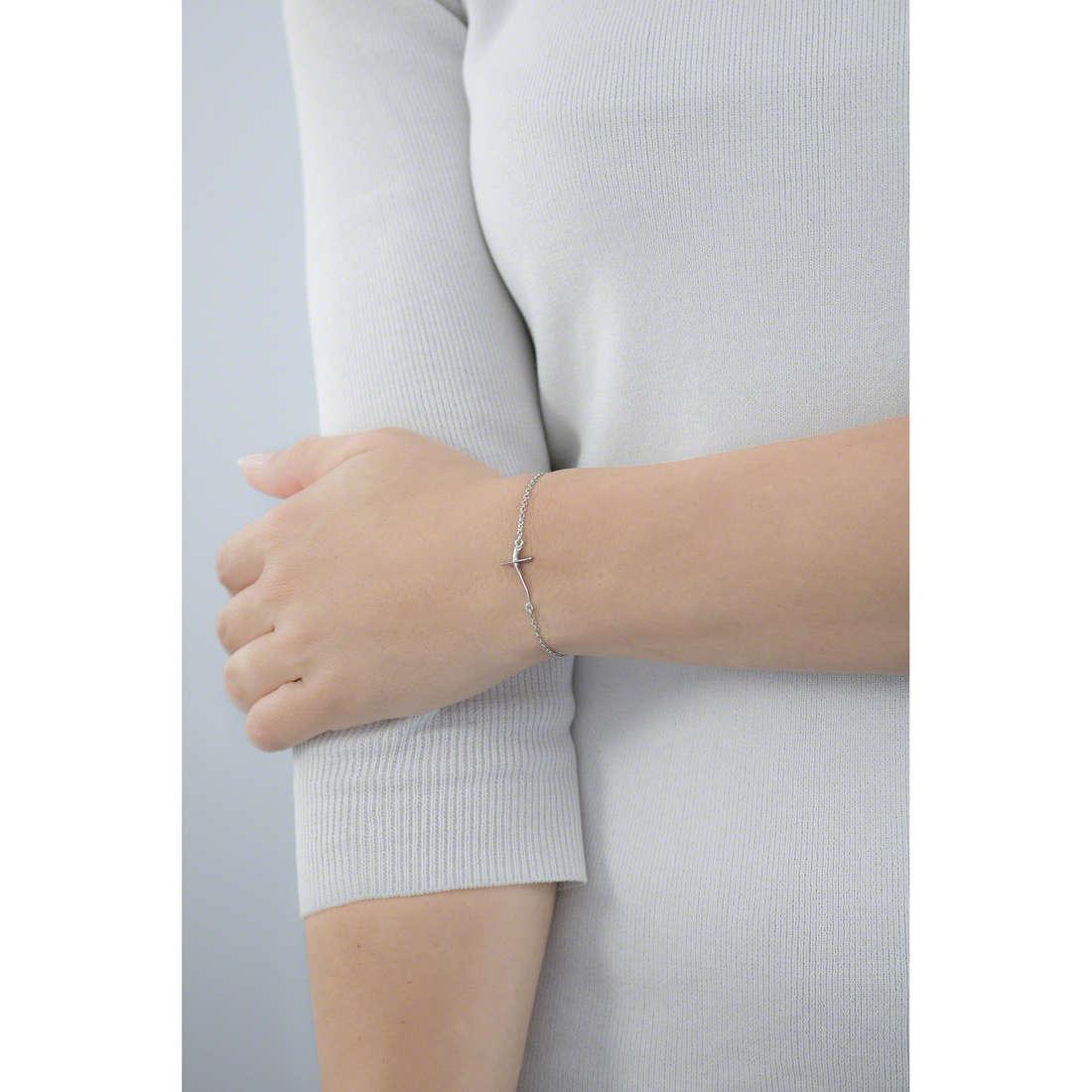 Breil bracelets Small Stories woman TJ1786 indosso