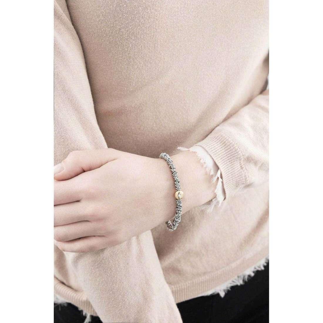 Breil bracelets Vertigo woman TJ1676 indosso