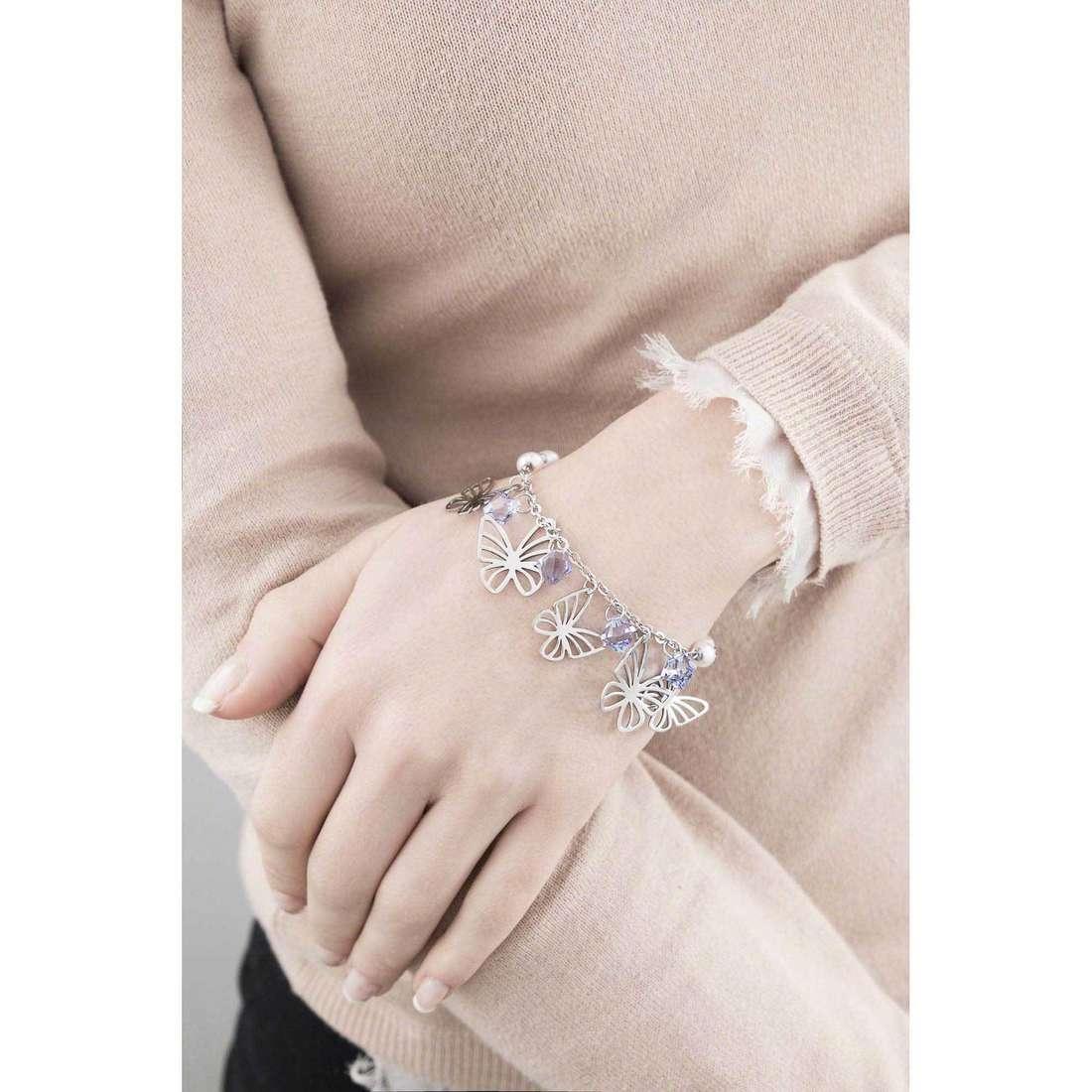Brosway bracelets Charmant woman BCM11 indosso