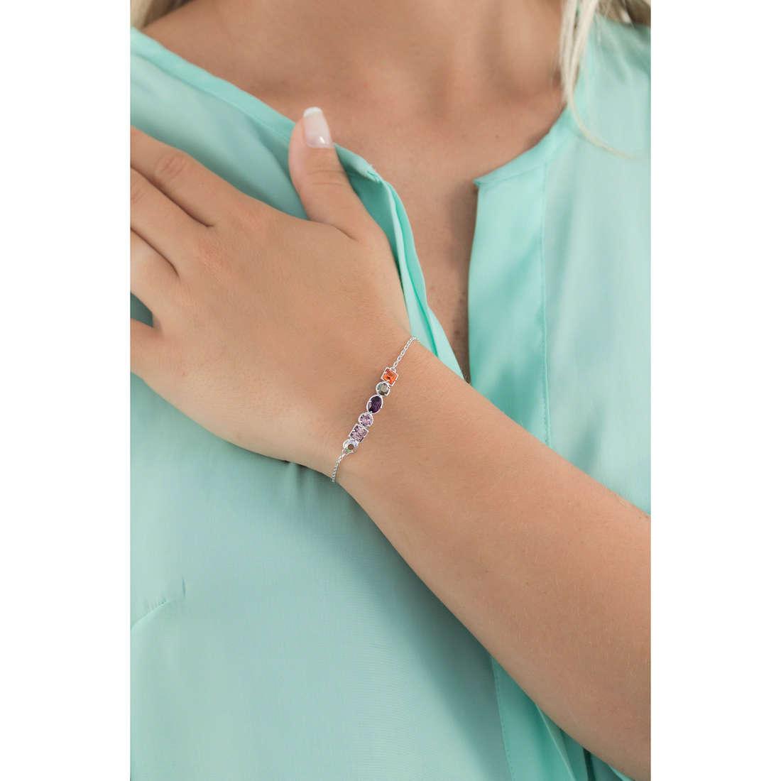 Brosway bracelets COLORI woman G9CL12 indosso
