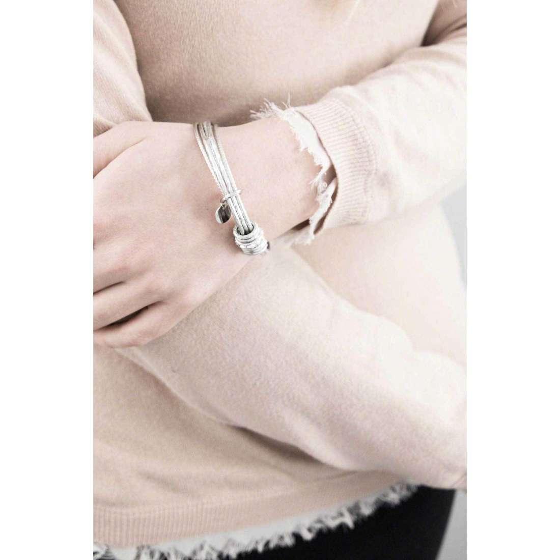 Brosway bracelets Falling Star woman BFG11 indosso