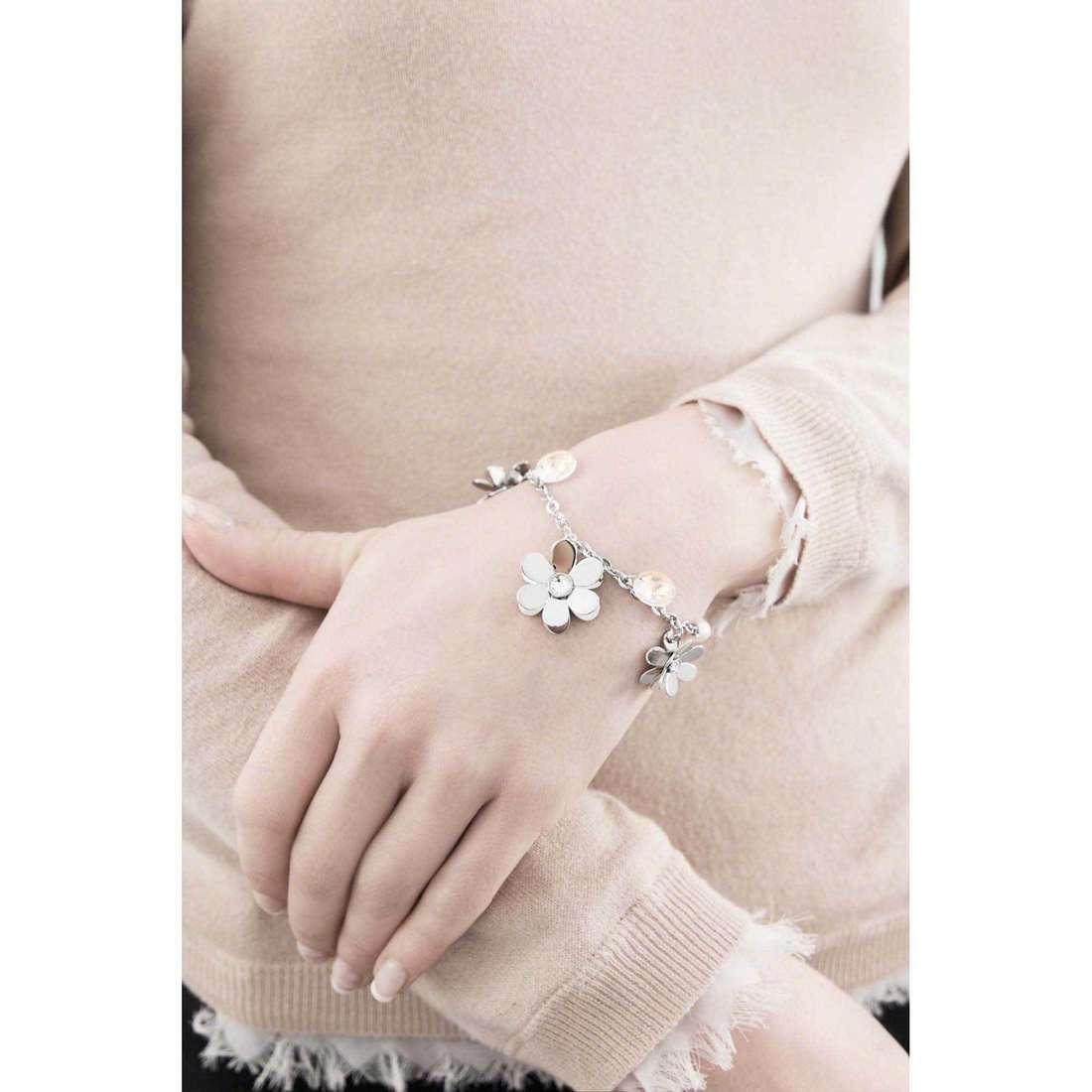 Brosway bracelets Jardin woman BJR11 indosso