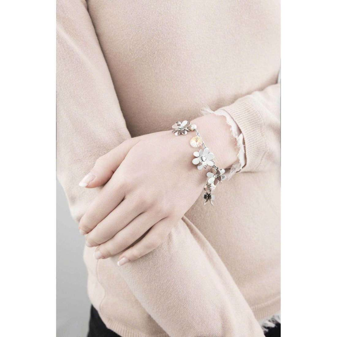 Brosway bracelets Jardin woman BJR12 indosso