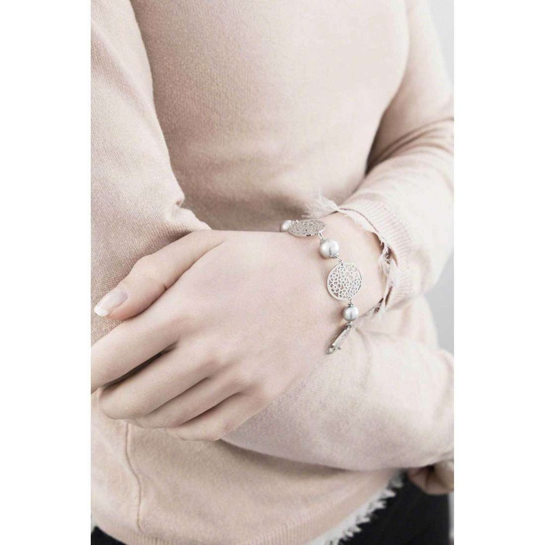 Brosway bracelets Mademoiselle woman BIS12 indosso