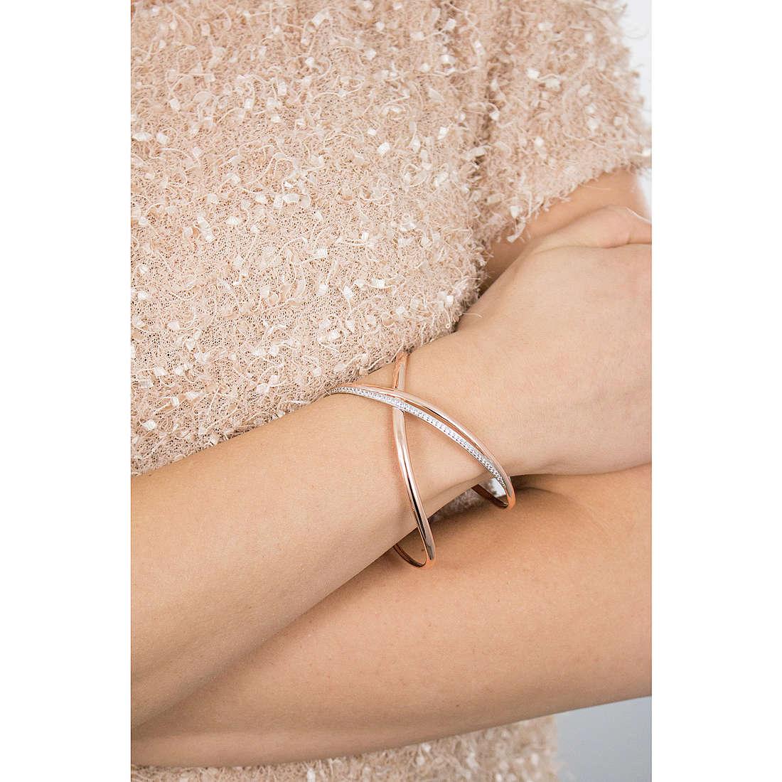 Brosway bracelets Ribbon woman BBN12 photo wearing