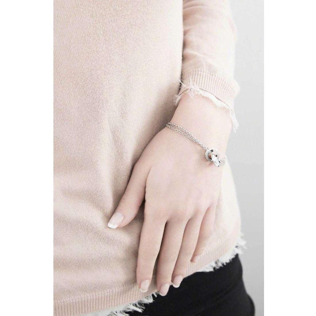 Brosway bracelets Romeo & Juliet woman BRJ16 indosso