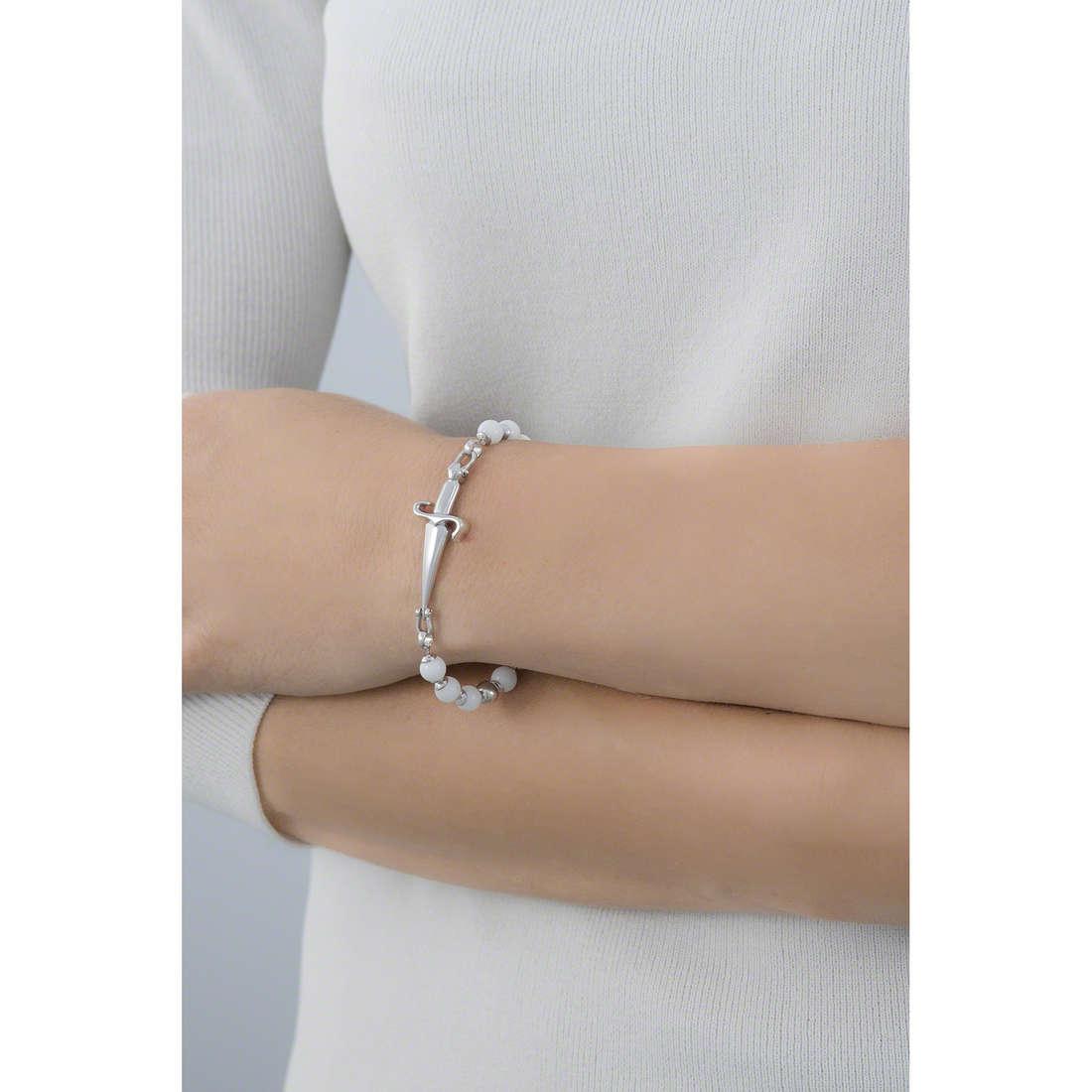Cesare Paciotti bracelets woman JPBR0124B indosso