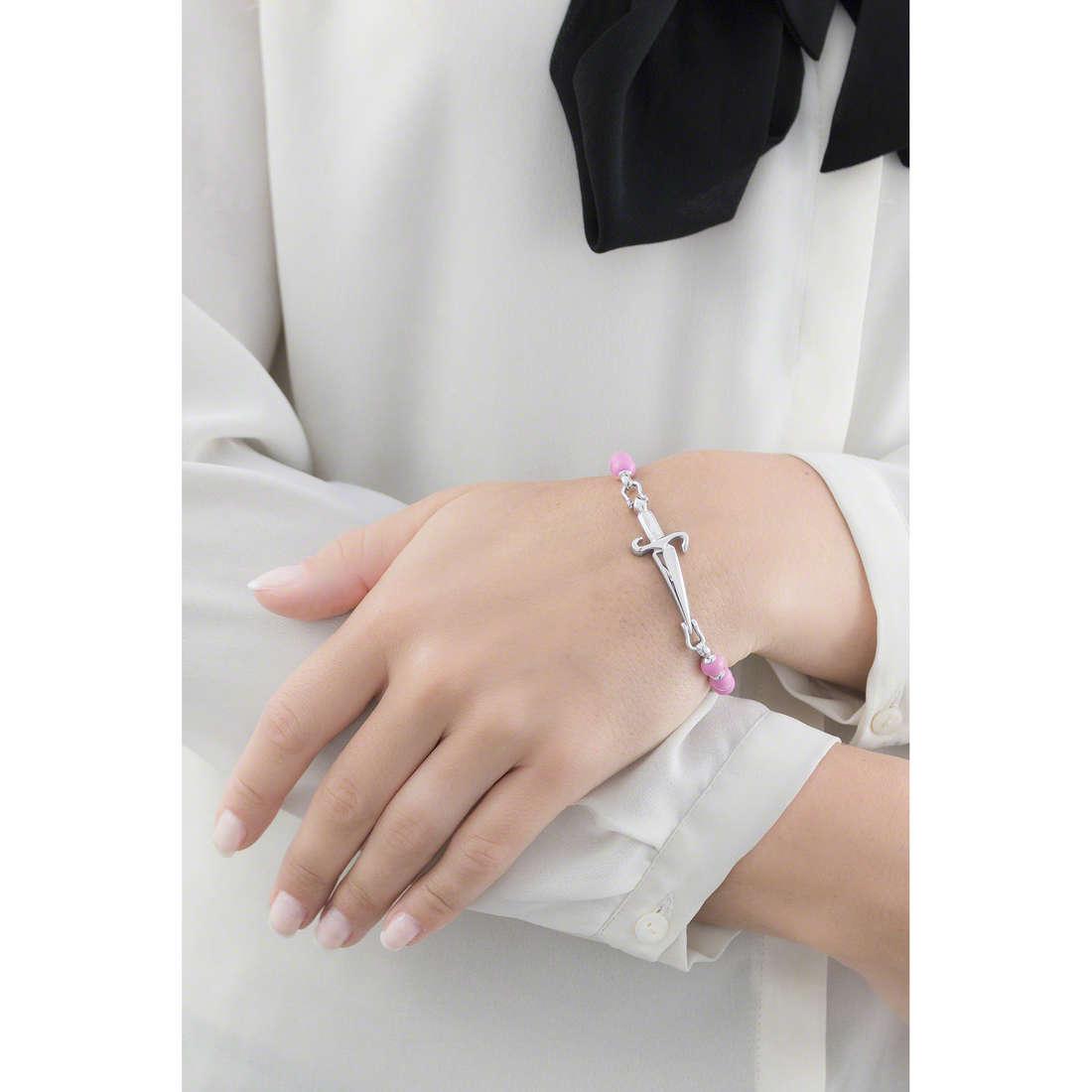 Cesare Paciotti bracelets woman JPBR0126B indosso