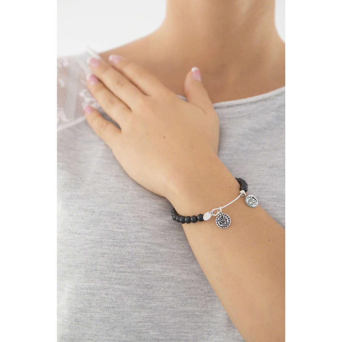 Chrysalis bracelets woman CRBH0001BL indosso