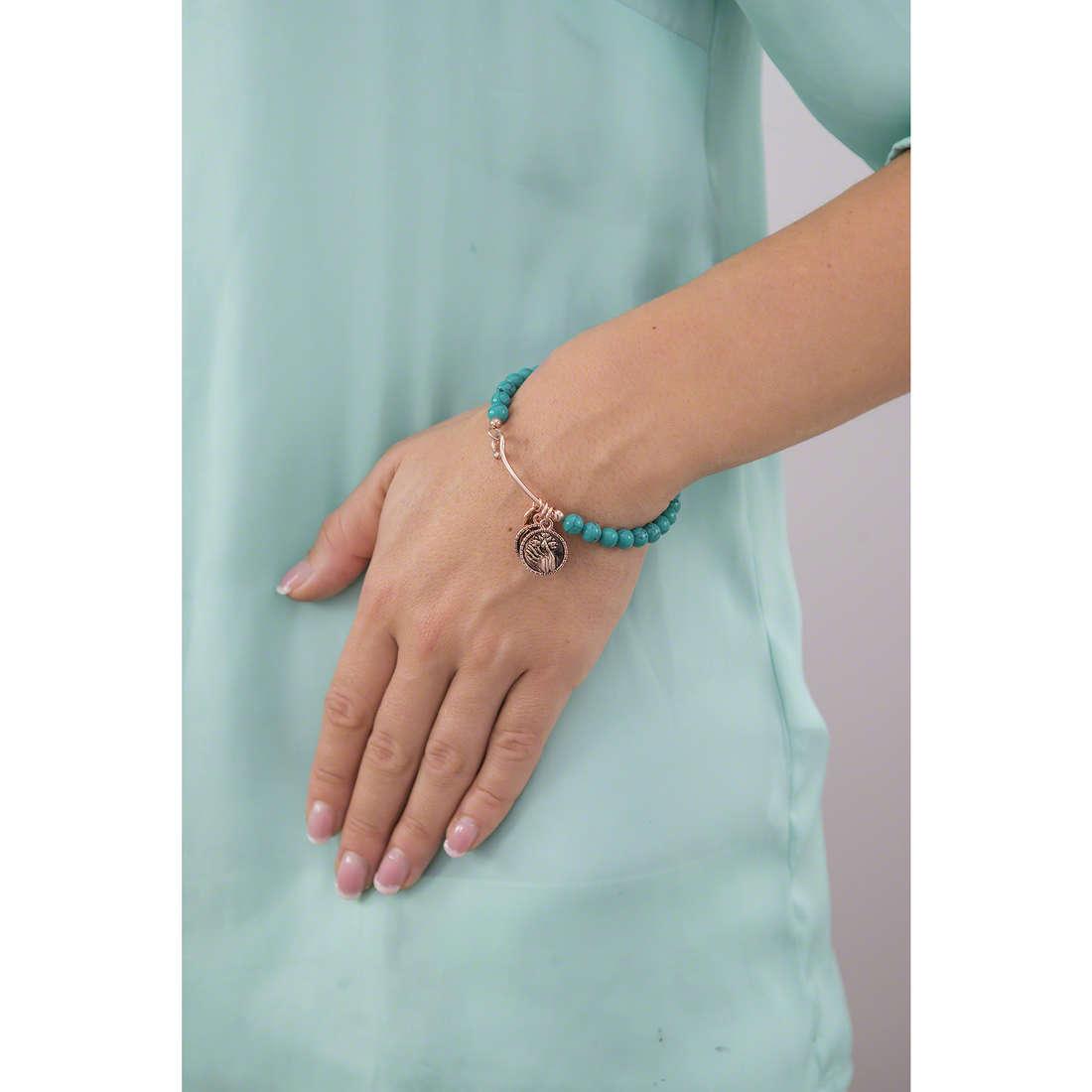 Chrysalis bracelets woman CRBH0102RG indosso