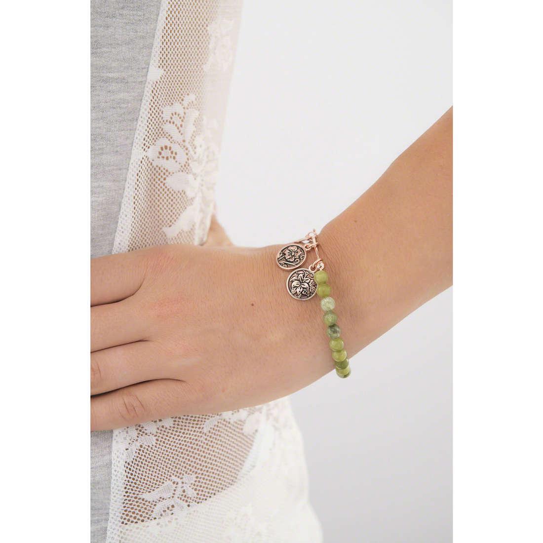 Chrysalis bracelets woman CRBH0107RG indosso