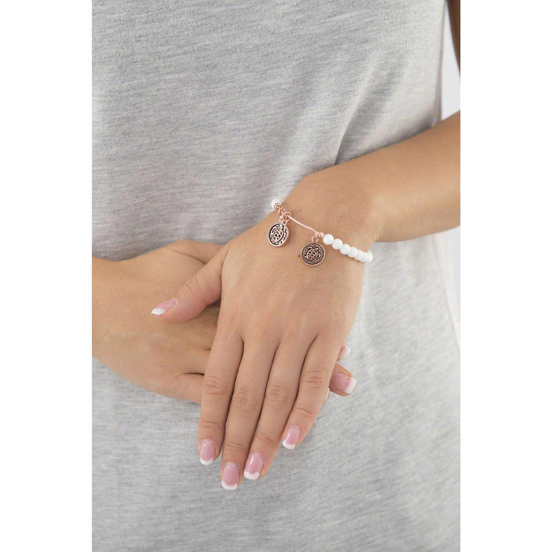 Chrysalis bracelets woman CRBH0111RG indosso