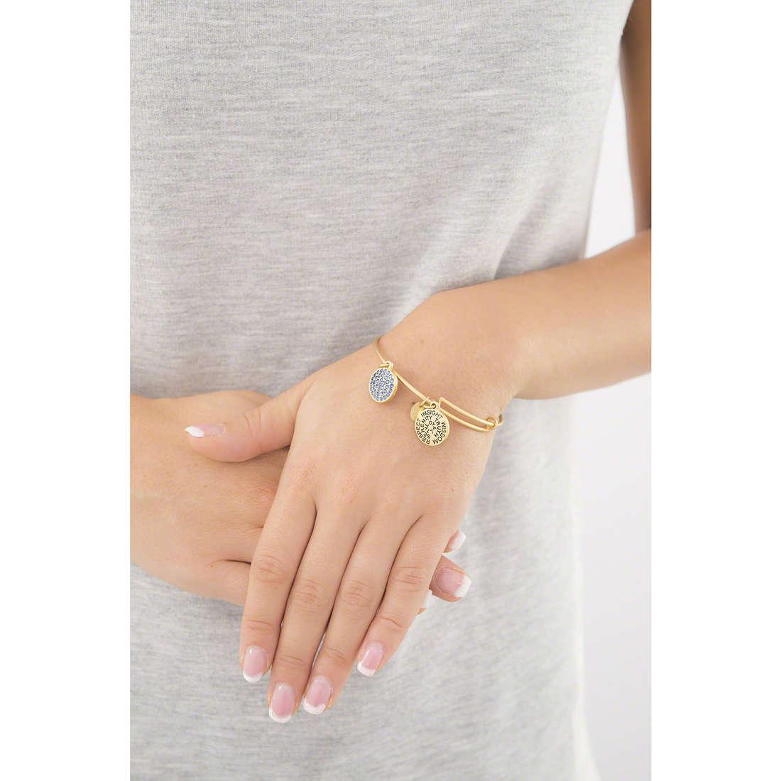 Chrysalis bracelets woman CRBT0103GP indosso