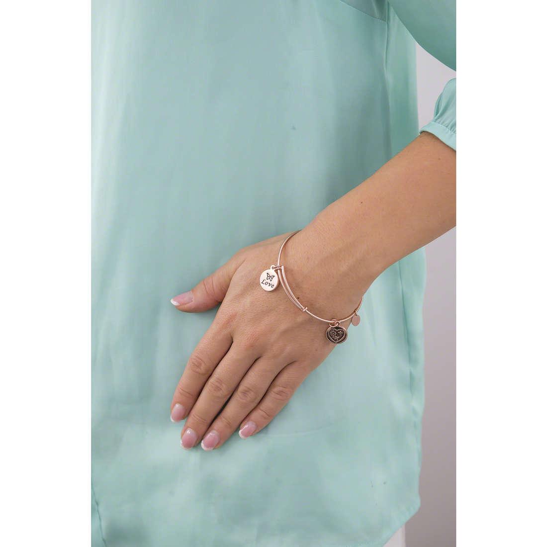 Chrysalis bracelets woman CRBT0304RG indosso