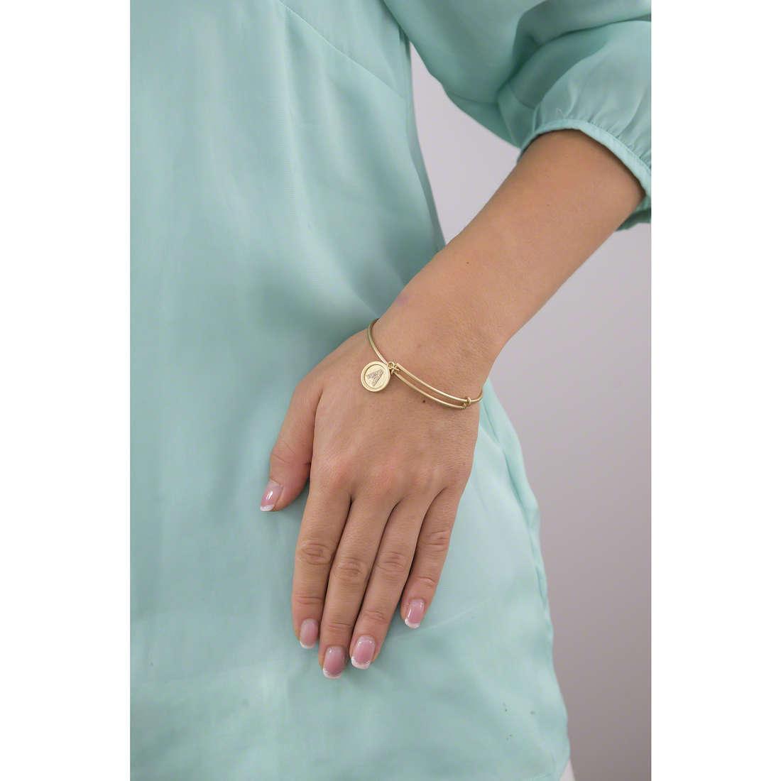 Chrysalis bracelets woman CRBT05AGP indosso