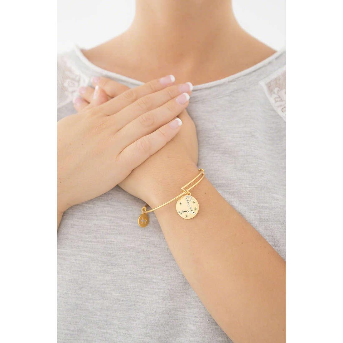 Chrysalis bracelets woman CRBT1312GP indosso