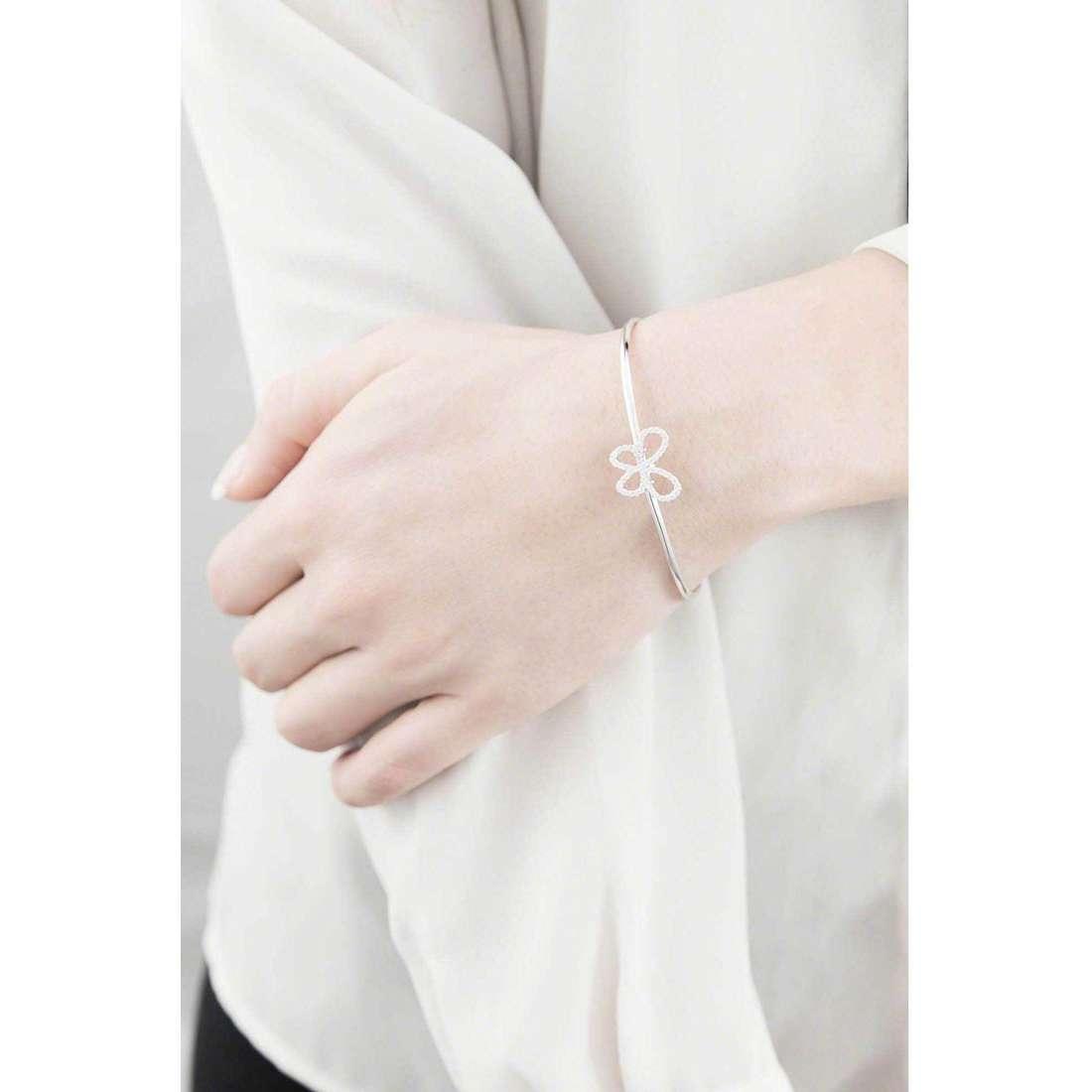 Comete bracelets Farfalle woman BRA 136 indosso