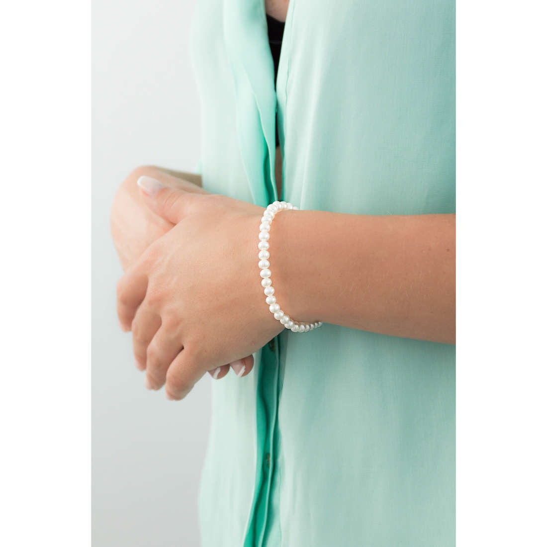Comete bracelets Easy Basic woman BRQ 110 AM indosso