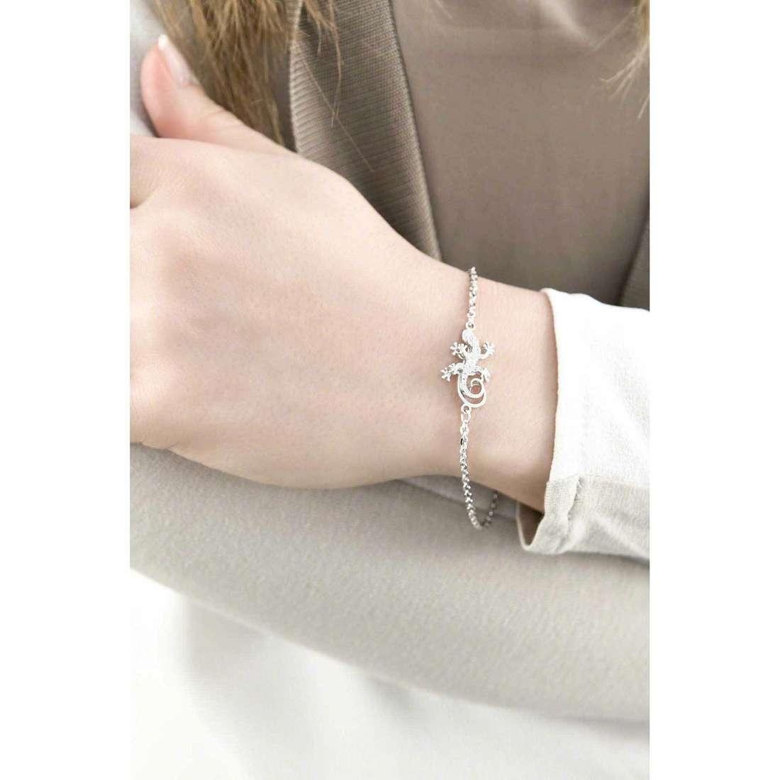 Giannotti bracelets Il Geco woman GIANNOTTIGEA103 indosso