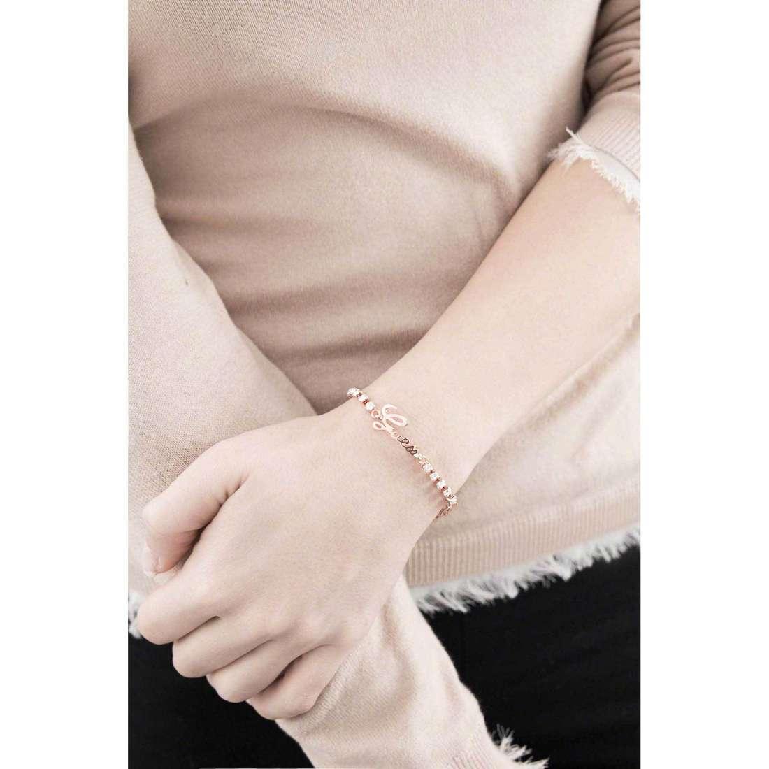 Guess bracelets Boxset woman UBS21503-S indosso