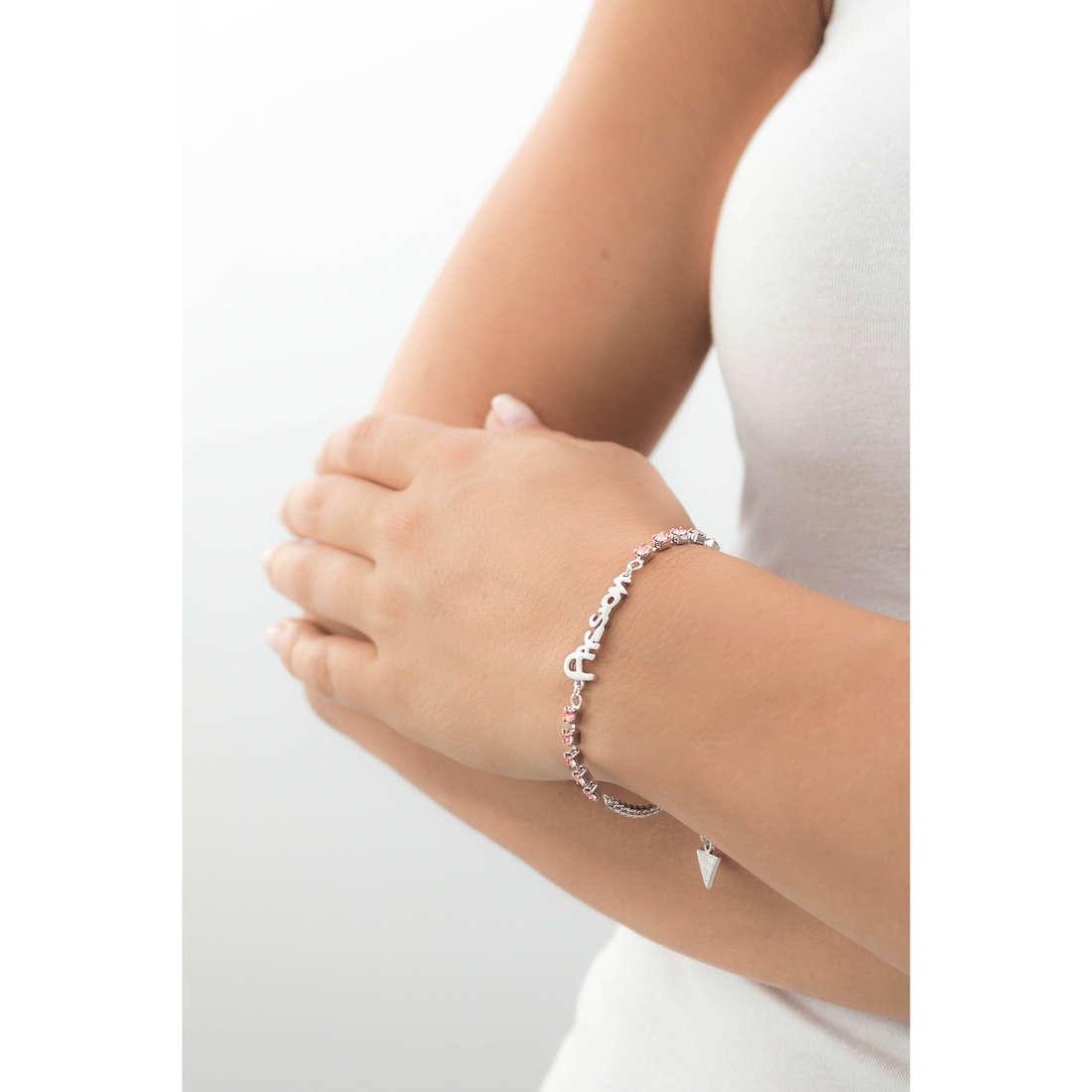 Guess bracelets woman UBB61004-S indosso