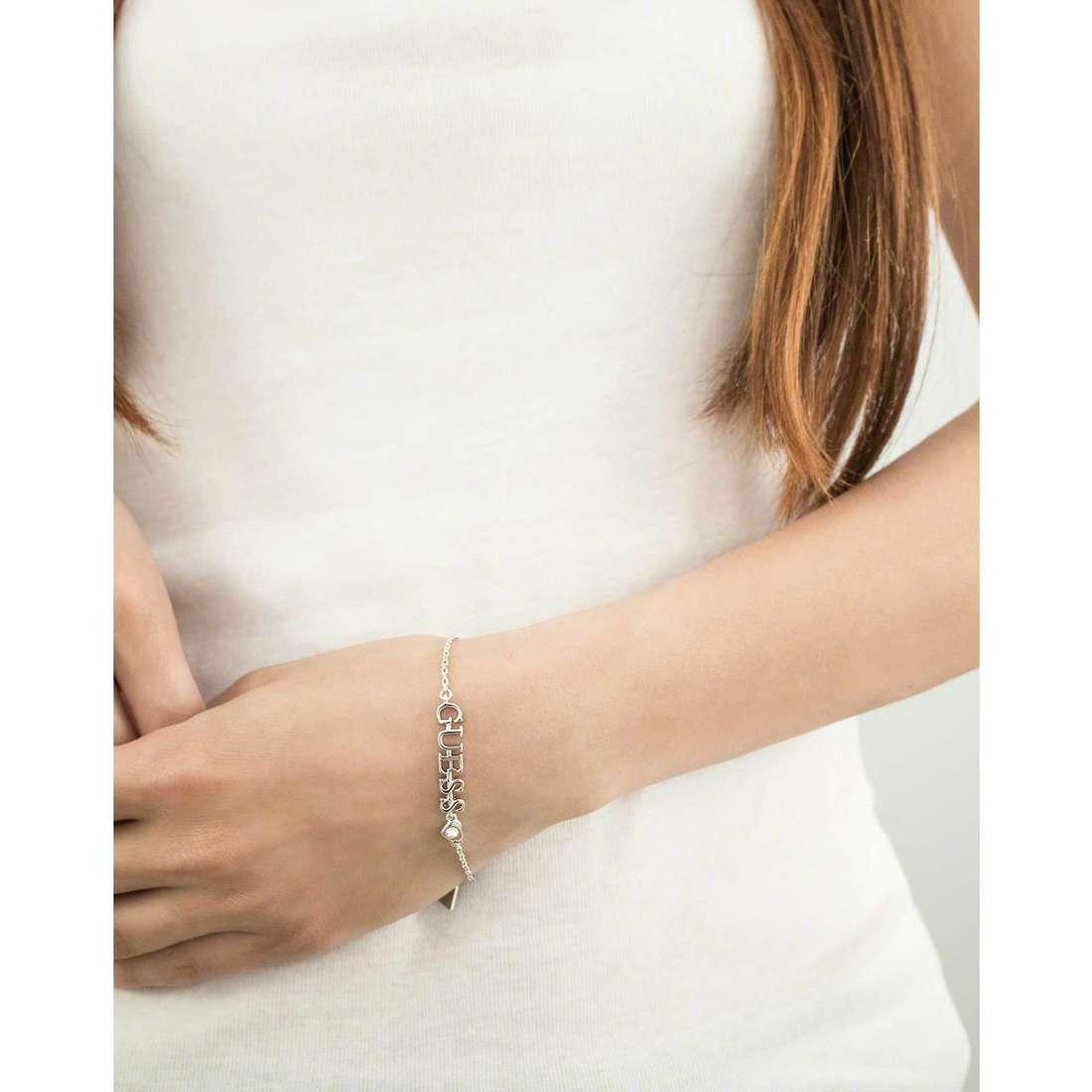 Guess bracelets woman UBB61092-S indosso