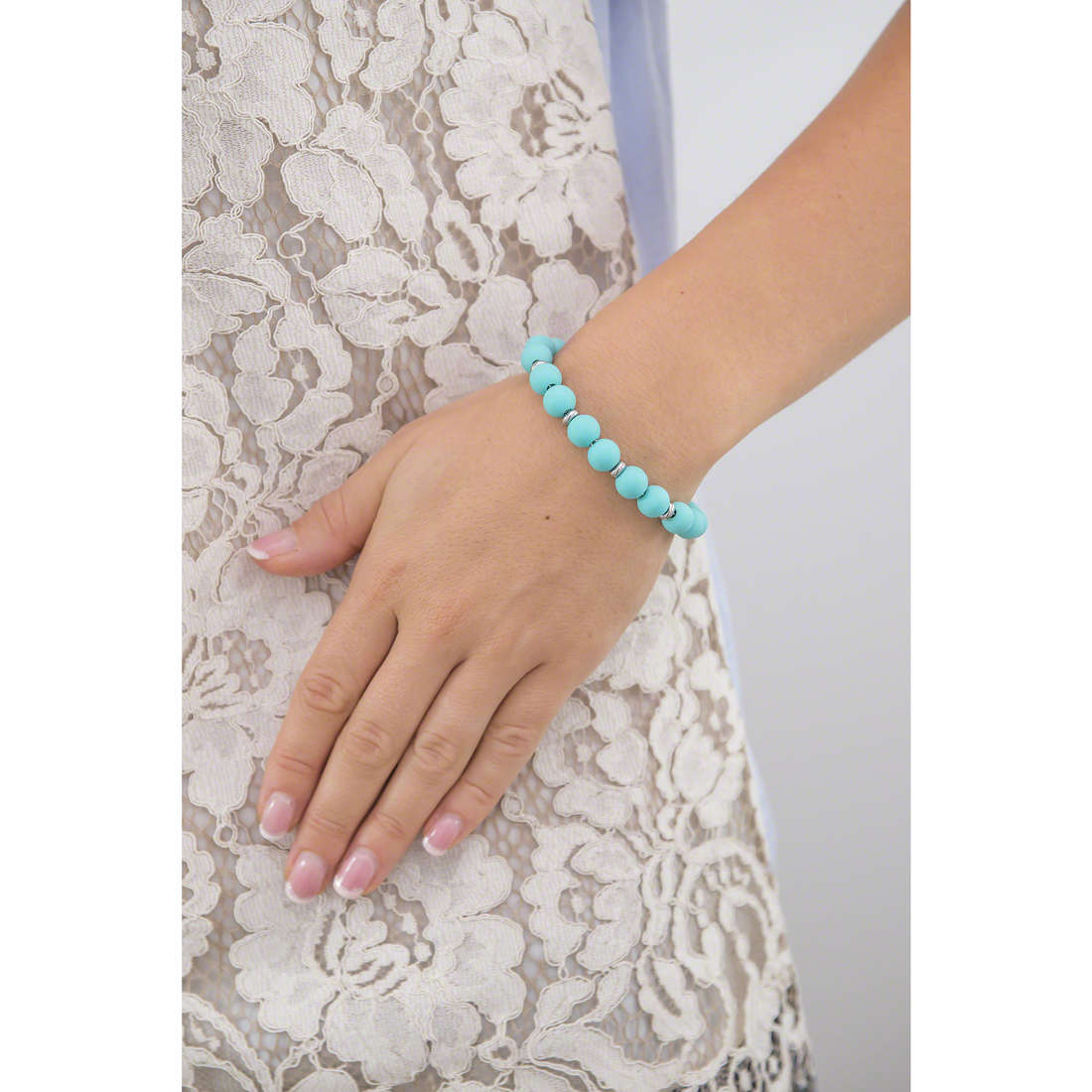 Hip Hop bracelets Bon Bon woman HJ0287 indosso