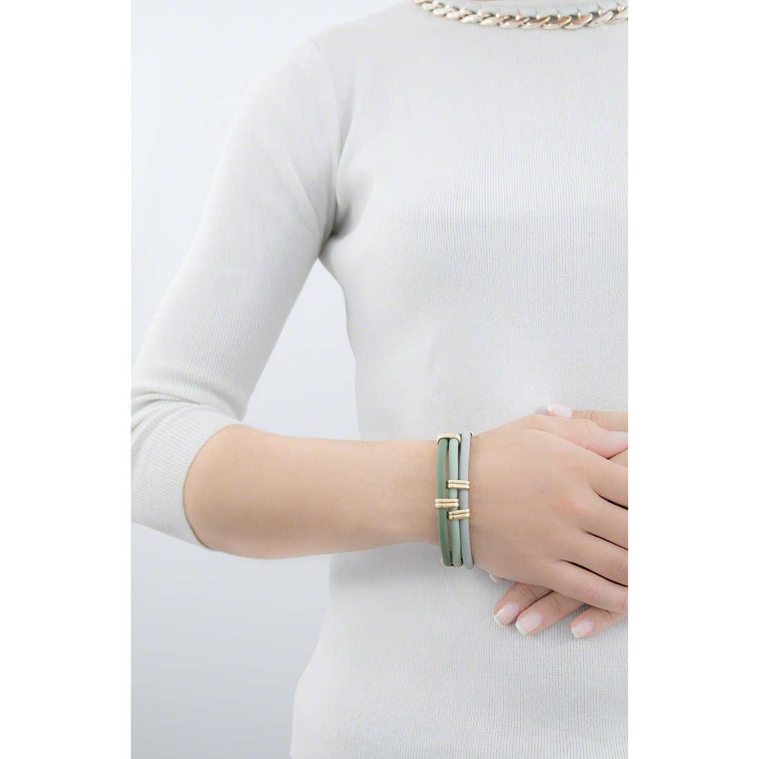 Hip Hop bracelets Happy Loops woman HJ0175 indosso